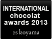 INTERNATIONAL chocolat awards 2013 eskoyama